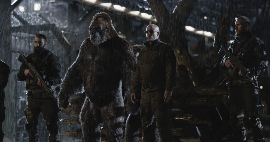 """Woody Harrelson stars in Twentieth Century Fox's """"War for the Planet of the Apes."""""""