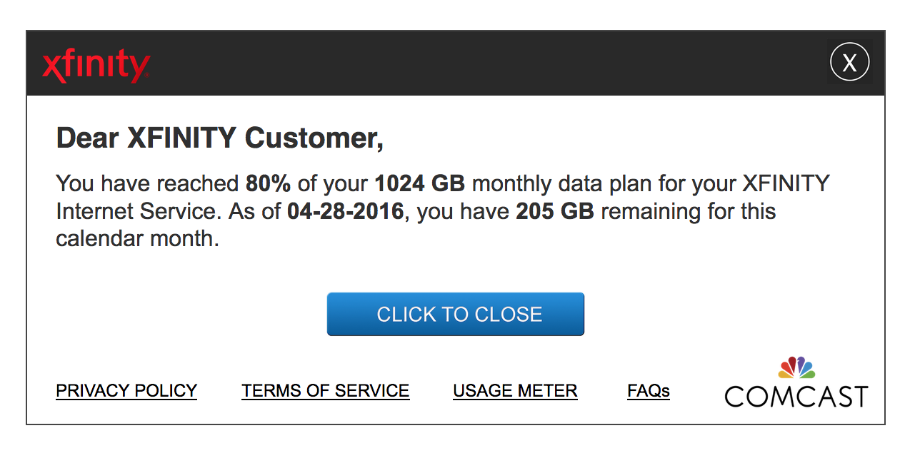330f2c93e95 Techmeme  Comcast s 1TB data caps start to roll out nationwide (Richard  Lawler Engadget)