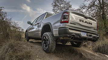 new ram 1500 v8 truck driving review: more capable, more