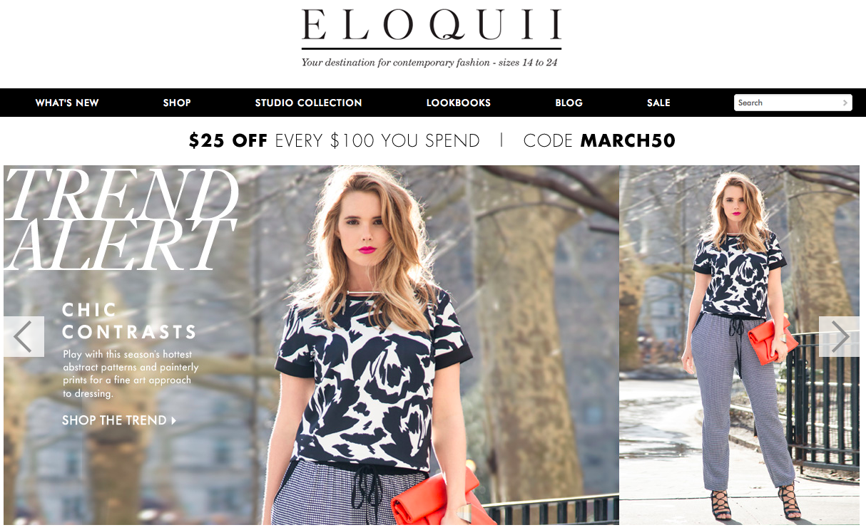 Eloquii Which Started As Part Of The Limited Is Now An Independent Brand That S Through Its E Commerce Site Has Seen A 236 Increase In Unique