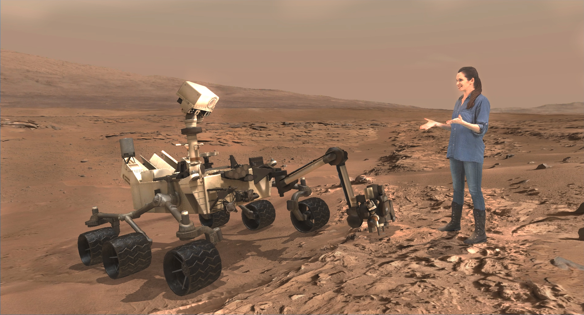 Rat On Mars In NASA Photo By Curiosity Rover Lizard Or