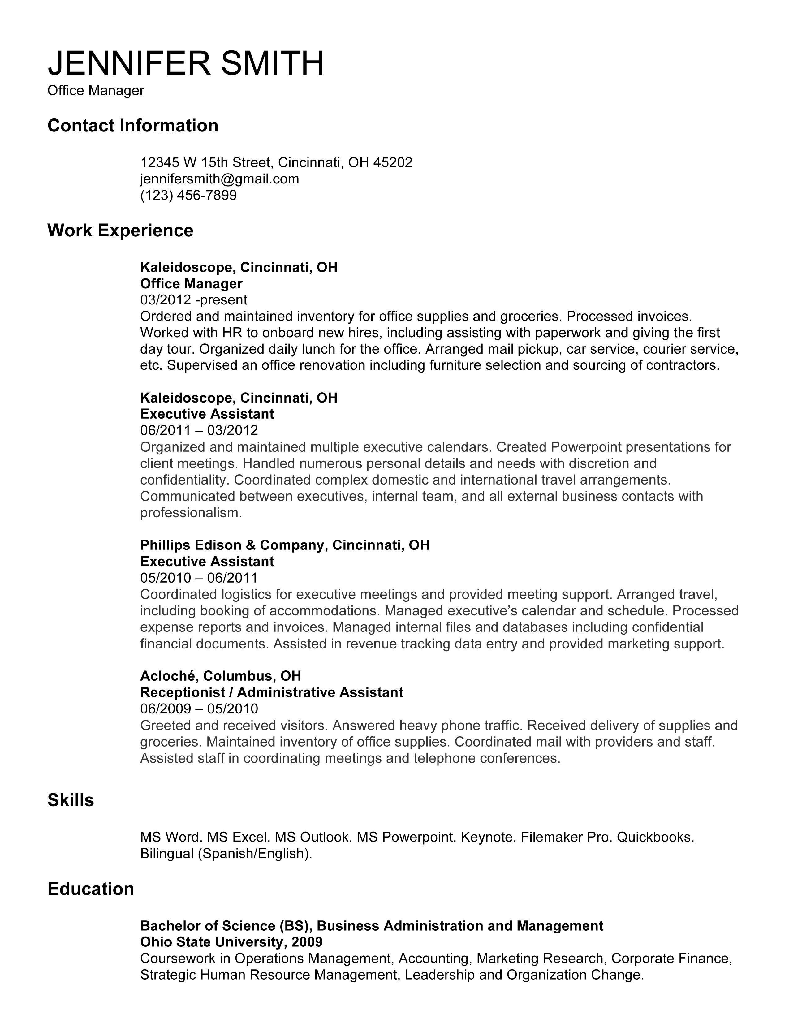 great resume template - solarfm.tk