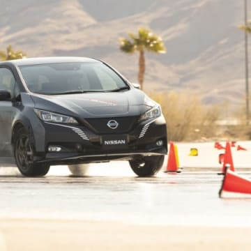 Nissan e-4ORCE Prototype First Drive | Nissan's performance future is electric