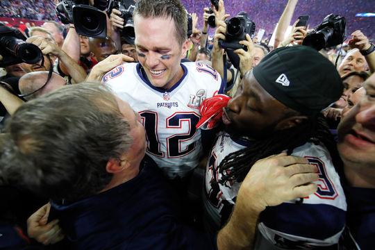 Patriots defeat the Falcons 34-28 in historic Super Bowl