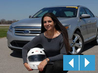 Crissy Rodriguez with 2010 Ford Taurus SHO