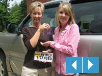 Susan Kessler and teen driving magnet