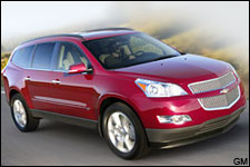 In Pictures: Chevy Traverse