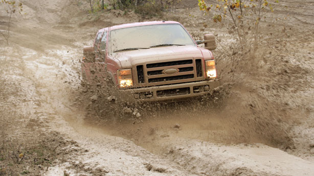 Ford F-series mud