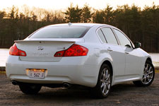 In Pictures: 2009 Infiniti G37X Sport