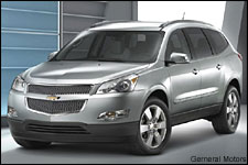 In Pictures: 2010 Chevy Traverse