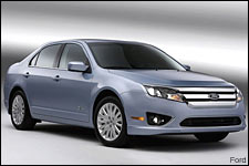 In Pictures: 2010 Ford Fusion