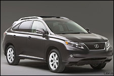 In Pictures: 2010 Lexus RX 350