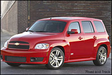 In Pictures: 2010 Chevy HHR