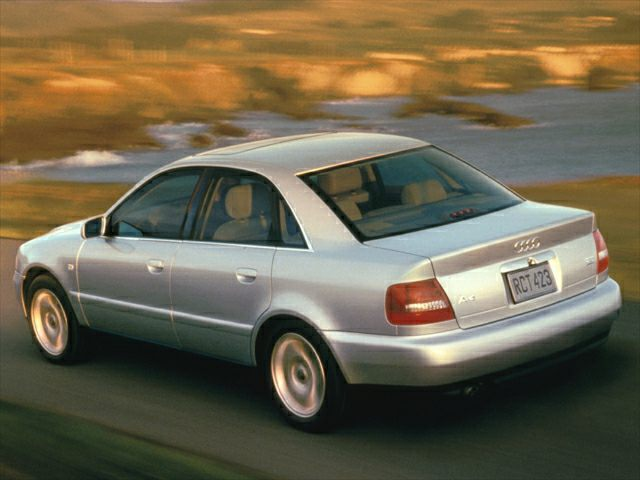 2000 Audi A4 1.8T 4dr Front-wheel Drive Sedan Specs and Prices