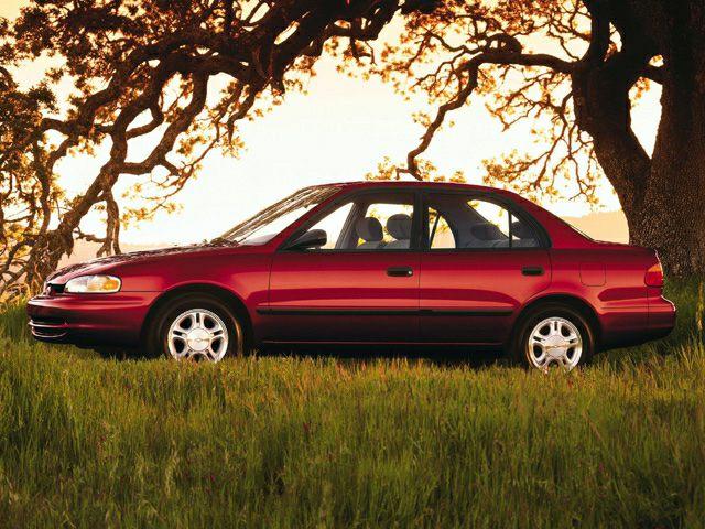 2000 Chevrolet Prizm Exterior Photo