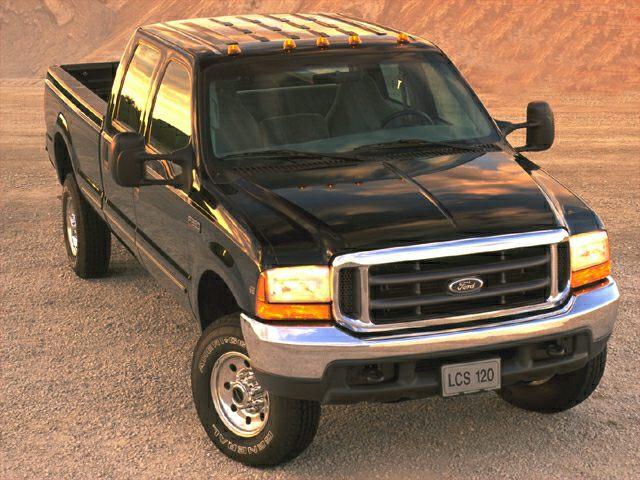 2000 Ford F-250 XLT 4x4 SD Crew Cab 156.2 in. WB HD ...