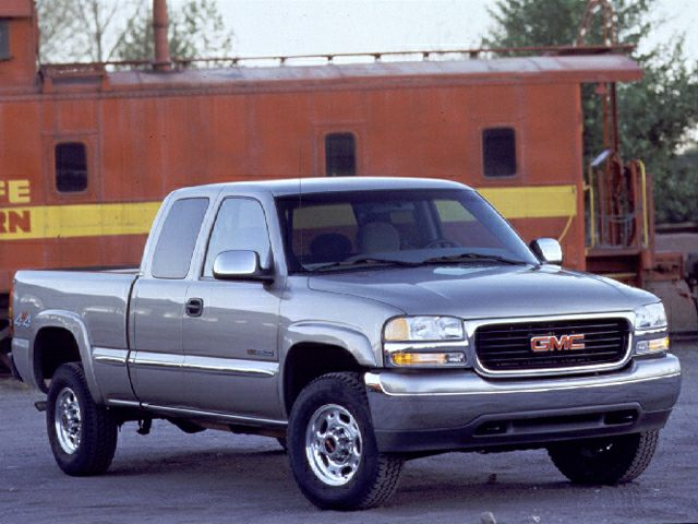 2002 gmc sierra 2500 standard 4x4 extended cab 6 6 ft box 143 5 2002 GMC Sierra Clutch 2002 gmc sierra 2500 exterior photo