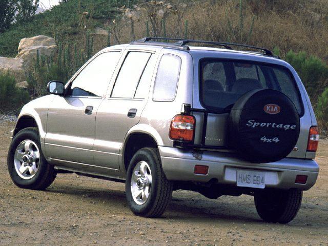 2000 Kia Sportage Exterior Photo