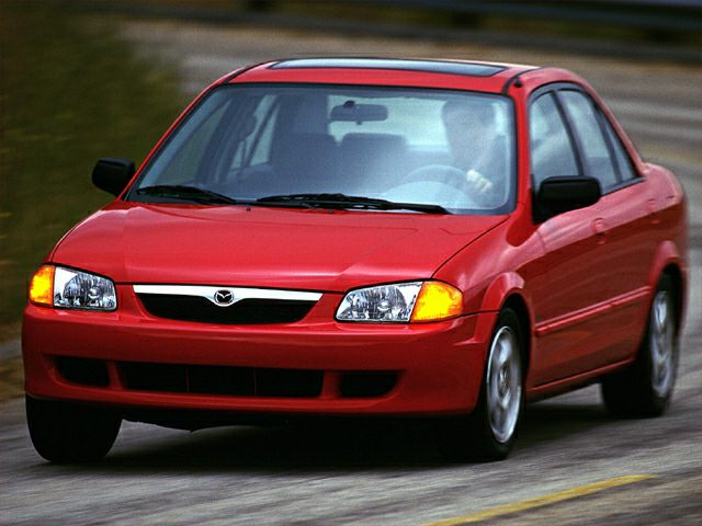 2001 Mazda Protege Mp3 4dr Sedan Specs And Prices