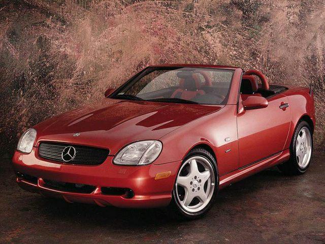 2000 Mercedes-Benz SLK-Class Exterior Photo
