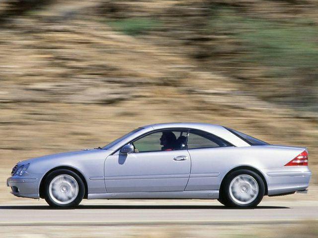 2000 Mercedes-Benz CL-Class Exterior Photo