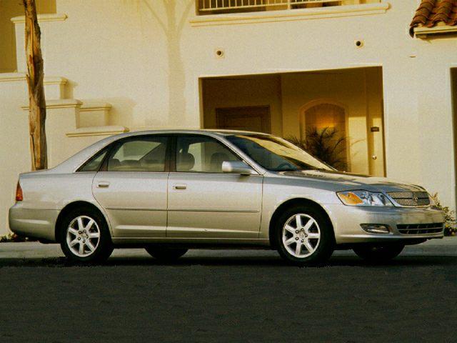 2000 toyota avalon xls bucket 4dr sedan equipment autoblog