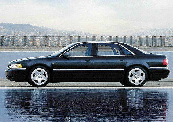 2001 Audi A8 Exterior Photo