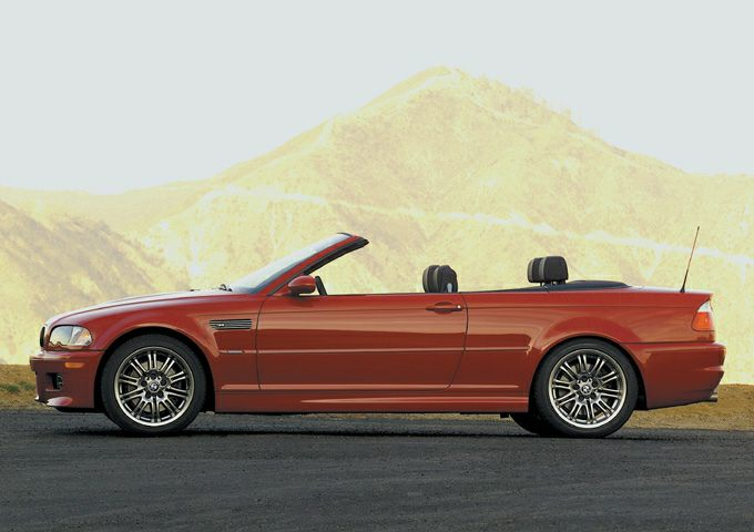 2001 BMW M3 Base 2dr Convertible Pricing and Options