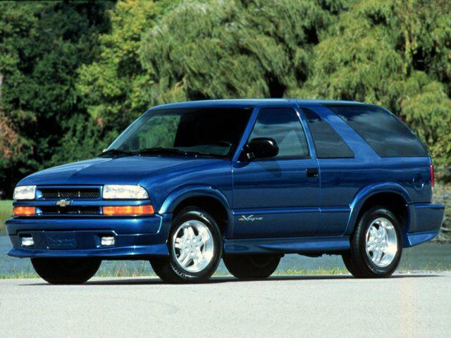 2001 Chevrolet Blazer LT 4dr 4x4 Book Value | Autoblog