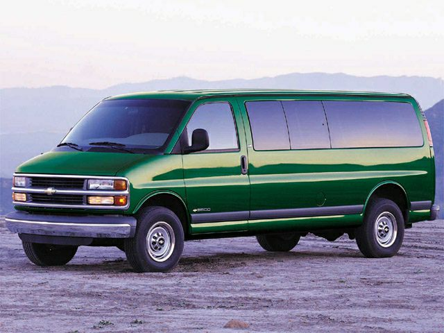 2001 Chevrolet Express Base G3500 Extended Passenger Van Specs And Prices