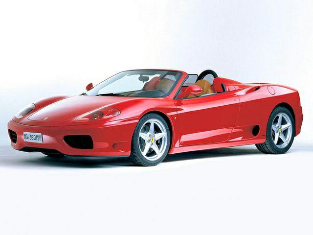 2002 Ferrari 360 Modena Spider 2dr Convertible Pictures