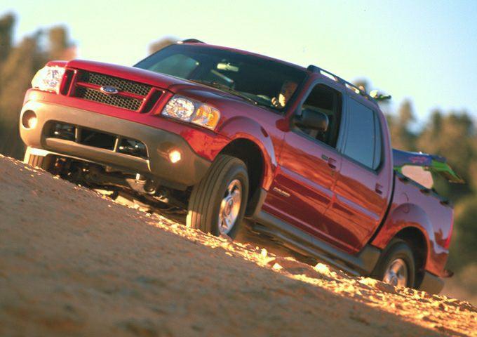 2001 Ford Explorer Sport Trac Exterior Photo