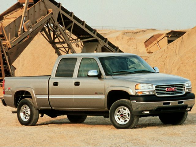 2002 gmc sierra 1500hd sle 4x4 crew cab 6 6 ft box 153 in wb 2002 GMC Sierra Clutch 2002 gmc sierra 1500hd exterior photo