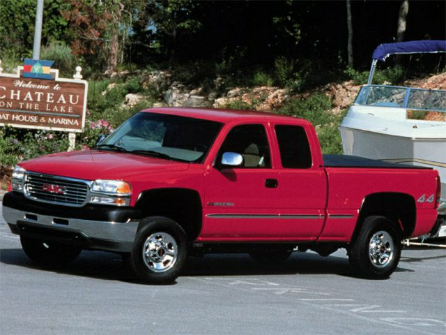 2002 gmc sierra 2500hd sle 4x4 extended cab 6 6 ft box 143 5 in 2002 GMC Sierra Clutch 2002 gmc sierra 2500hd exterior photo