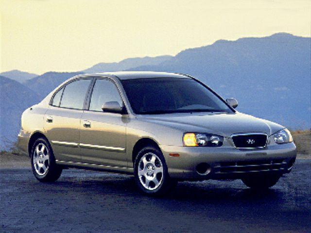 2001 Hyundai Elantra Information