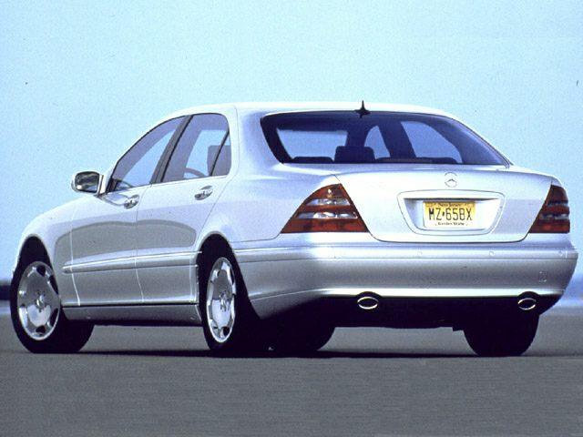 2001 Mercedes-Benz S-Class Exterior Photo