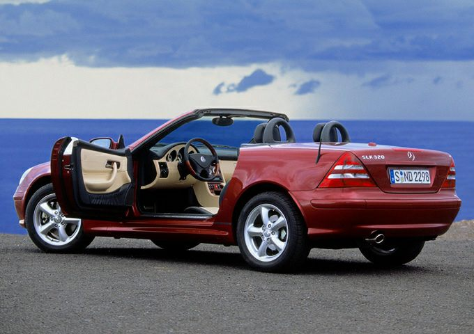 2001 Mercedes-Benz SLK-Class Kompressor SLK 230 2dr Roadster Specs and  Prices