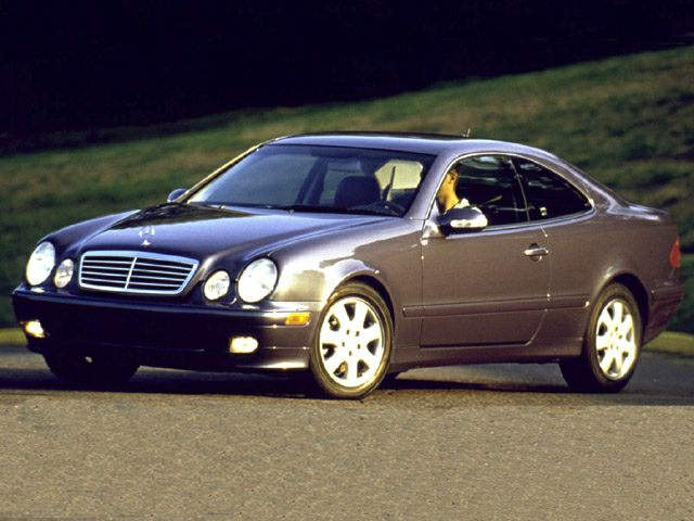 2001 Mercedes-Benz CLK-Class Exterior Photo
