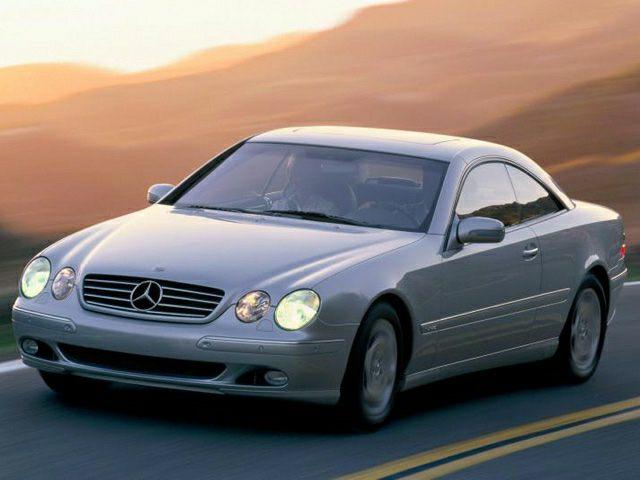 2001 Mercedes-Benz CL-Class Exterior Photo