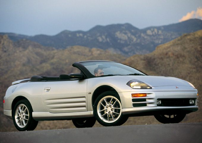 2001 Mitsubishi Eclipse Spyder Pictures