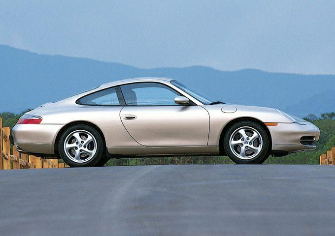 2001 Porsche 911 Carrera 2dr Coupe Pictures