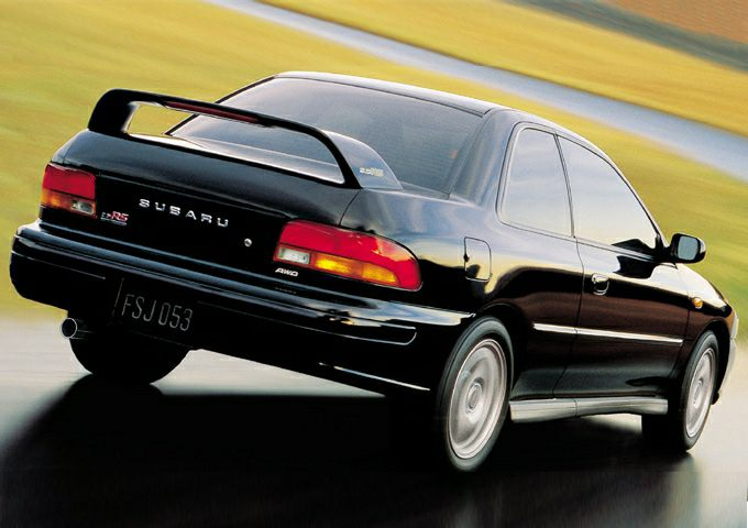 2001 subaru impreza 2 5rs 2dr all wheel drive coupe. Black Bedroom Furniture Sets. Home Design Ideas
