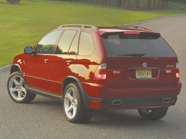 2002 BMW X5 Exterior Photo