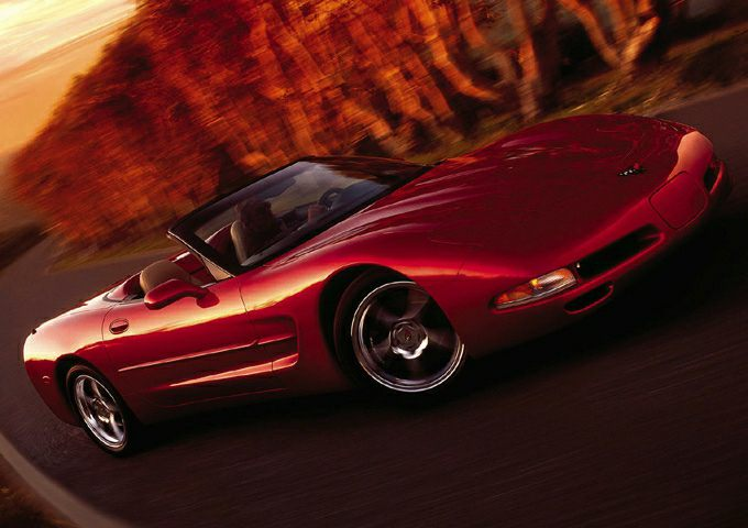 2002 Chevrolet Corvette Exterior Photo
