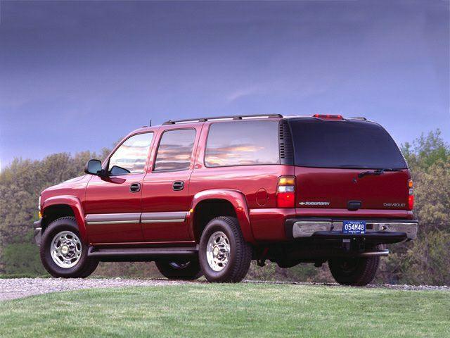 2002 chevrolet suburban 2500 new car test drive
