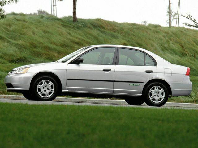 2002 Honda Civic Exterior Photo