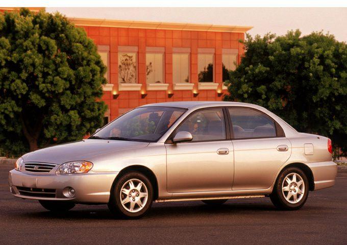 2002 Kia Spectra Exterior Photo