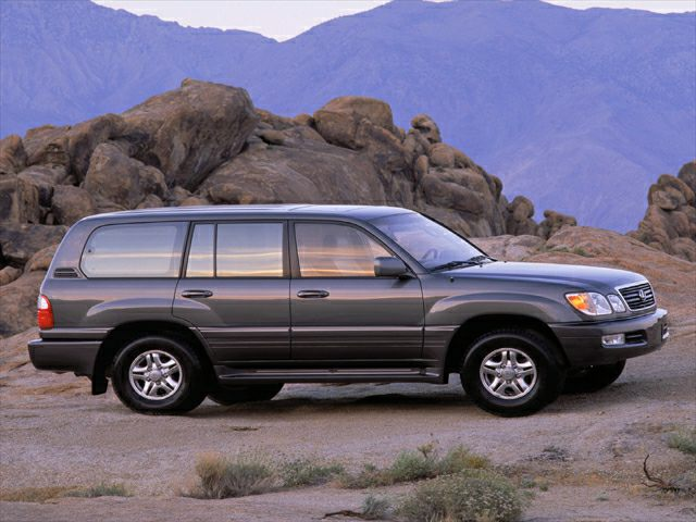 2002 Lexus LX 470 Exterior Photo
