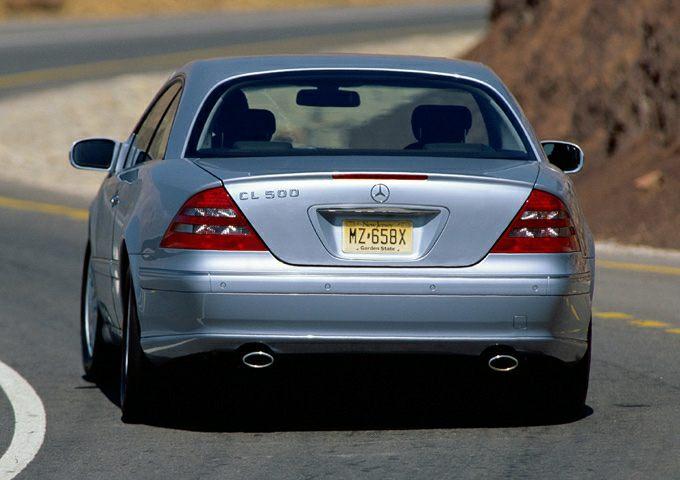 2002 Mercedes-Benz CL-Class Exterior Photo