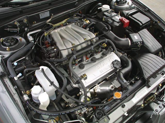 Miged on 2001 Mitsubishi Galant Engine